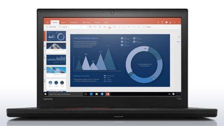 Lenovo prijenosno računalo ThinkPad T560 i7/8/256/W10P (20FHS0KL00)