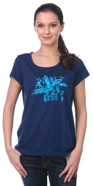 Gant dámské tričko M modrá