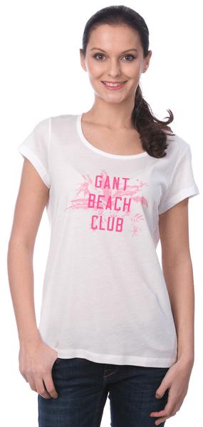 Gant dámské tričko S bílá