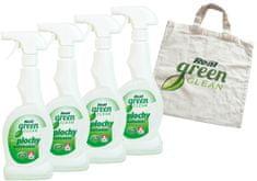 Real Green Clean Plochy - multifunkční 4x500 g + taška zdarma