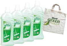 Real Green Clean Podlahy 4x1 kg + taška zdarma