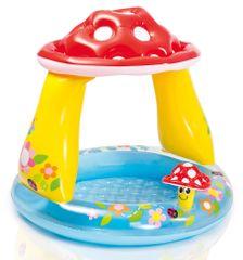 Intex otroški bazen gobica, 102 x 89 cm