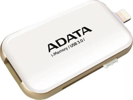 A-Data pendrive i-memory pro Apple 128GB USB 3.0, UE710, biały