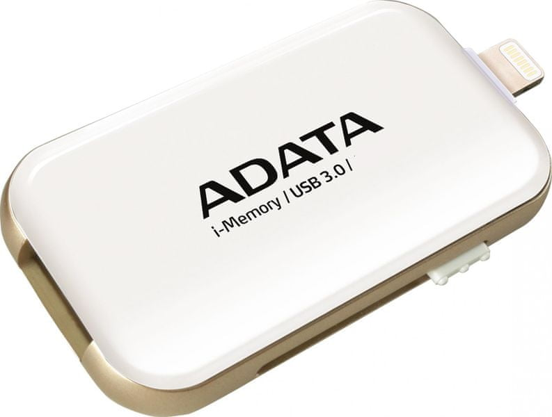 Adata UE710 64GB USB 3.0 i-memory pro Apple (AUE710-64G-CWH) White