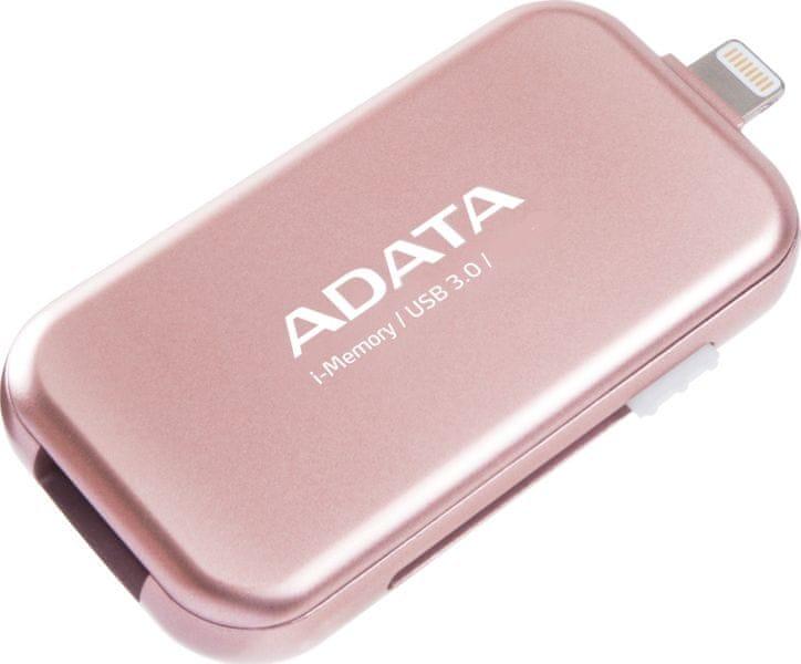 Adata UE710 64GB USB 3.0 i-memory pro Apple (AUE710-64G-CRG) Pink