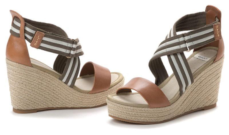 Gant dámské sandály Stella 41 khaki