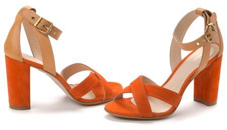 Gant ženski sandali Harper 41 oranžna