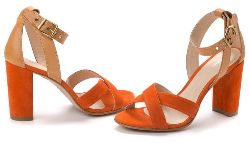 Gant dámské sandály Harper 41 oranžová