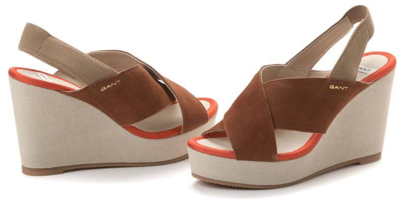 Gant dámské sandály Stella 41 hnědá
