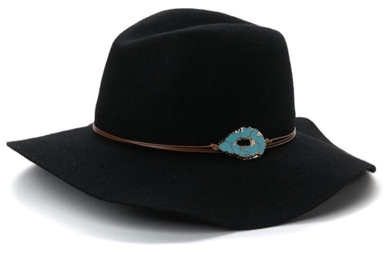 s.Oliver dámský černý klobouk