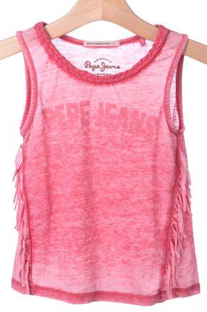 Pepe Jeans dekliška spodnja majica Rena 152 roza