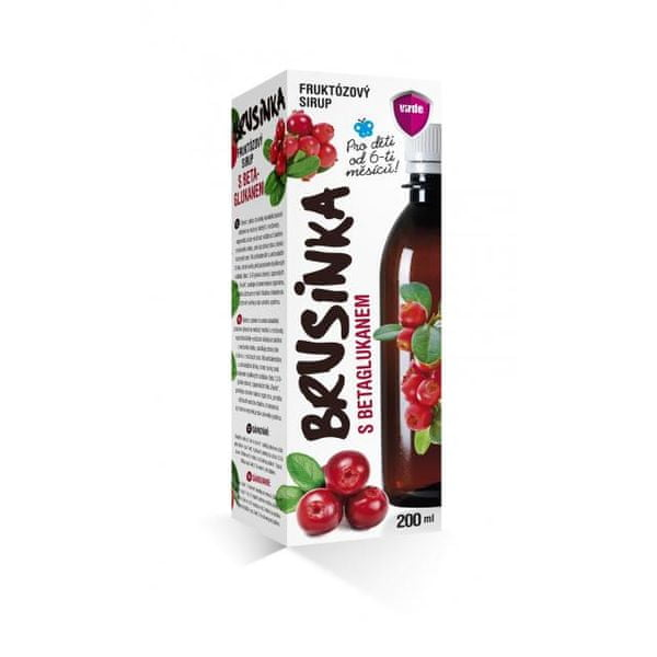 Brusinka sirup 200ml
