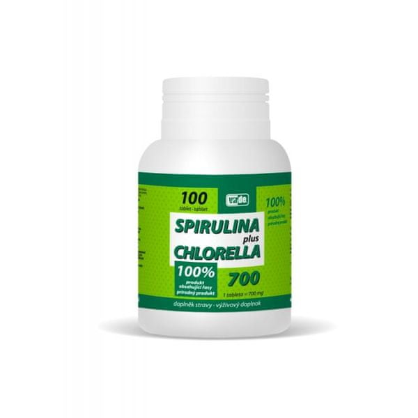 Spirulina Plus Chlorella tbl.100