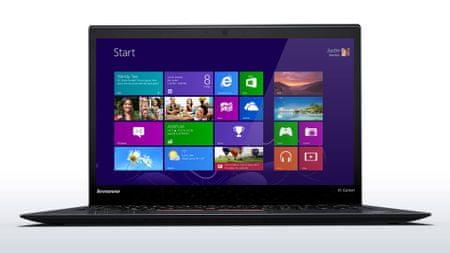 Lenovo prenosnik ThinkPad X1 Carbon 4 i5/8/256/W10P (20FB002USC)