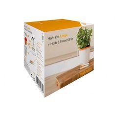 Fiskars darilni set: posoda za začimbe + škarje za obrezovanje (111835)