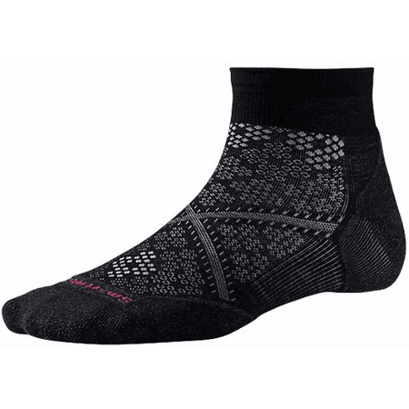 SMARTWOOL damskie skarpetki Women's PhD Run Light Elite Low Cut Bk M