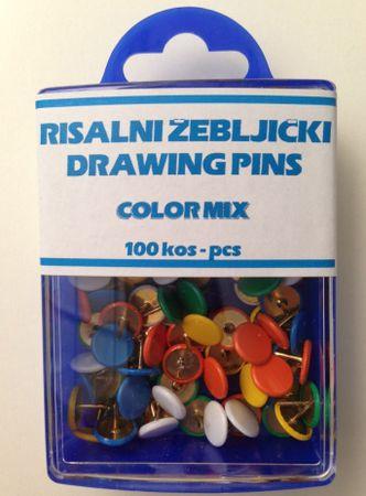 Niko Risalni žebljički barvni 1/100