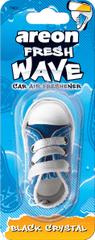 Areon osvežilec za avto Fresh Wave, Black Crystal