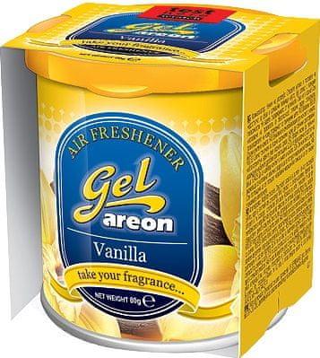 Areon osvežilec za avto Gel, vanilija