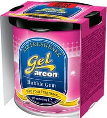 Areon osvežilec za avto Gel, Bubble Gum