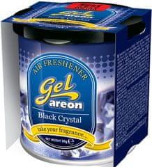 Areon osvežilec za avto Gel, Black Crystal