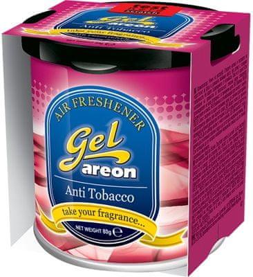 Areon osvežilec za avto Gel, Anti Tobacco