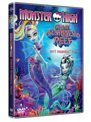 Monster High: Great scarrier reef (Velký podmořský film)  - DVD