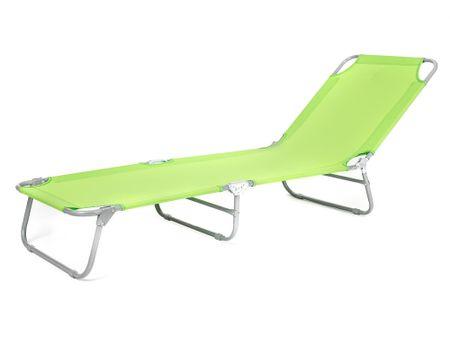 Happy Green Plážové ležadlo SUNBAY svetlo zelená