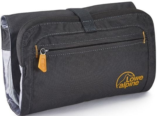 Lowe Alpine Rollup Wash Bag Anthracite/Amber/An