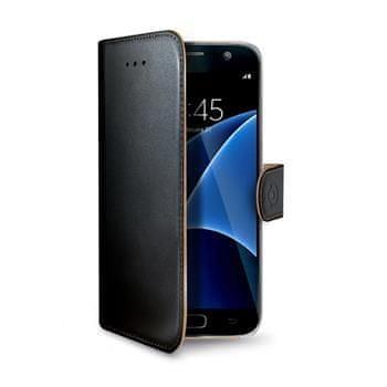 Celly Pouzdro Wally, Samsung Galaxy S7, černé