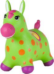 John Hopsadlo pony Neon zelený