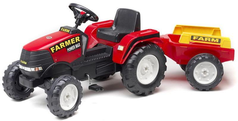 Falk Traktor Farm Max s přívěsem