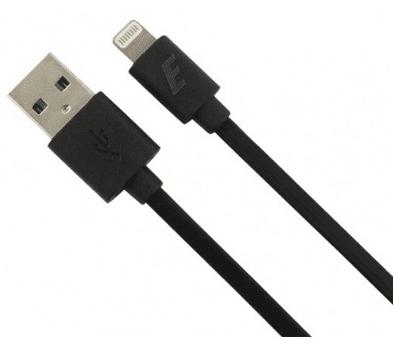 Energizer kabel Highend Lightning ploščat 1,2 m - črn