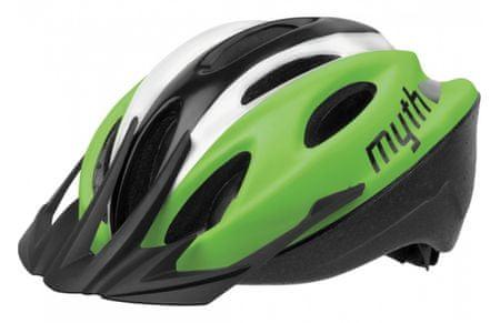 Polisport kolesarska čelada Myth zelena/črna M