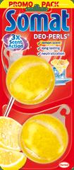 Somat Odświeżacz do zmywarki Deo Pearls Lemon 2x 60 szt.