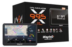 WAYTEQ X995 Android GPS + Sygic Truck Európa kamionos navigáció