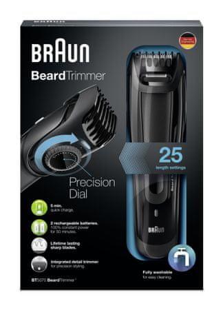 BRAUN BT 5050 Szakállvágó készlet  54e620330c