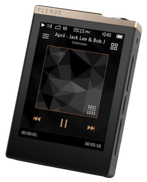 Cowon Plenue D / 32GB, černá/zlatá
