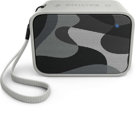 Philips Bluetooth prenosni zvočnik BT110, siv