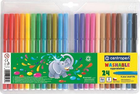 Centropen Popisovač 7790 sada 24 barev