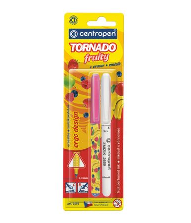 Popisovač 2675 TORNADO FRUITY + zmizík