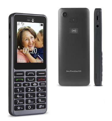 doro PhoneEasy 509, černá
