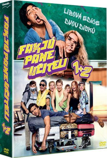 Kolekce: Fakjů pane učiteli 1+2 (2DVD) - DVD
