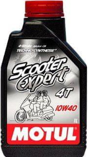 Motul olje 4T Scooter Expert 10W40, 1L