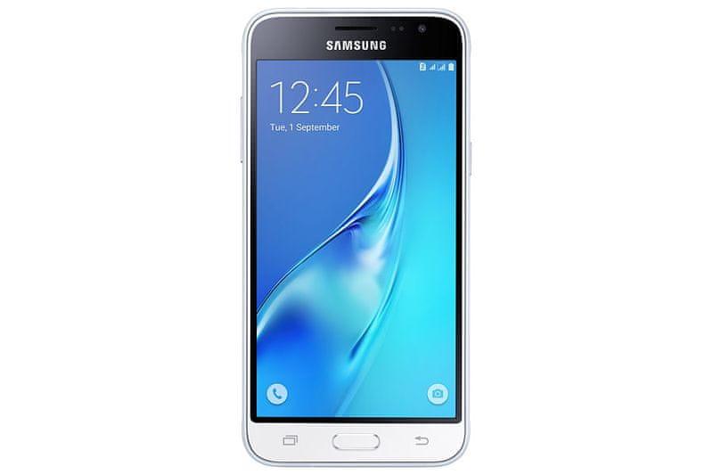 Samsung Galaxy J3, J320, Dual SIM, bílá - II. jakost
