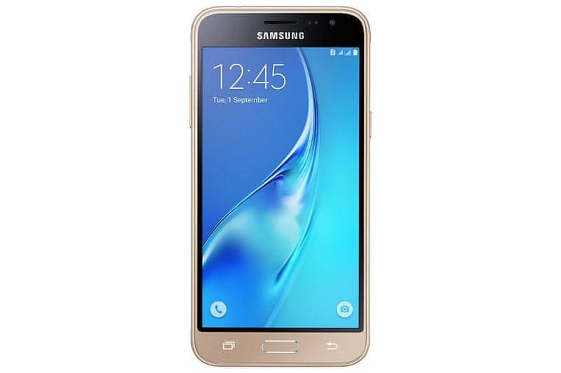 Samsung Galaxy J3, J320, Dual SIM, zlatý