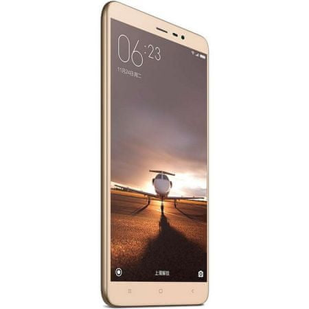 Xiaomi Redmi Note 3, CZ LTE, 3GB/32GB zlatý - rozbaleno