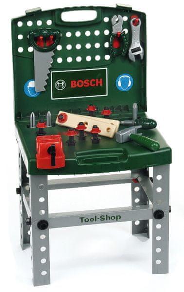 Klein Pracovní stůl Bosch v kufříku s akušroubovákem