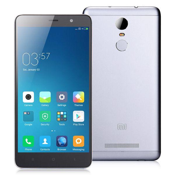 Xiaomi Redmi Note 3 PRO, LTE, 2GB/16GB šedý