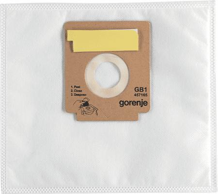 Gorenje mikrofilter vrečke GB1, papirnate, z vhodnim filtrom
